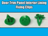10x 8mm Clips For VW Audi Door Trim Panel Interior Lining Fixing Green 893867290